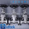 Didtek 100% prueba api 6d válvulas de compuerta estándar