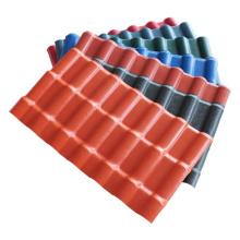 Excelentes tejas sintéticas españolas UPVC con aislamiento térmico
