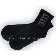 Tubo de algodón hombres calcetines