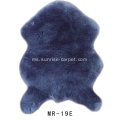 Faux Rabbit Plain atau warna bercampur Shaggy Carpet