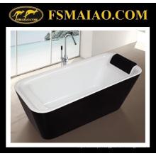 Banheira acrílica autônoma do banheiro da instalação fácil com descanso (9011)