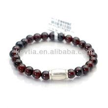 Bracelets à perles en grenat en grès thaïlandais de bonne qualité