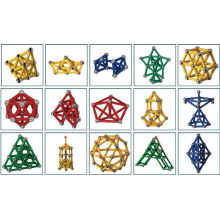 Pädagogische Kid′s magnetische Contruction Spielzeug (UNI-Spielzeug-003)