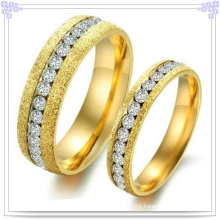 Couple Fashion Jewelry Stainless Steel Finger Ring (SR531)