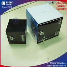 Modern Black Square Yageli Luxury Donation Money Box