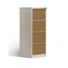 Стальные вертикальные картотеки с 4 ящиками, картотеки
