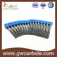 Processo especial do alargador das flautas retas da combinação do carboneto de tungstênio