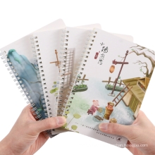 Custom Design A5 A6 A7 Small Cute Spiral Softcover Diary Notebook