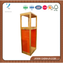 Wooden Display Tower for Clothes Store