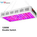 1200W Grow Light Full Spectrum para vegetales / floración en interiores