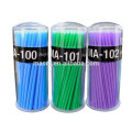 Micro brosse à fibre de haute qualité, micro-brosses jetables pour taille E