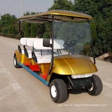 carrinho de golfe barato com dois de volta para lugares