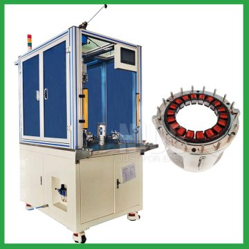 Automatic 18 slots motor stator needle winding machine