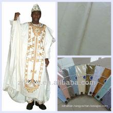 Good Quality Promotion Guinea Brocade Soft Cotton Textiles Damask Shadda Bazin Riche African Garment Fabric