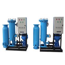 Sistema automático de limpieza de tubos Uso de la bola de goma para el intercambio de calor