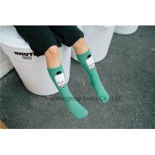 Niña de fantasía niña medias niña tubo de calcetines tejidos de punto para la venta al por mayor