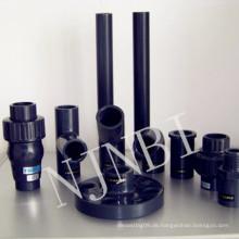 Grau PVC Fastener & Fitting, Kombination & Gelenkbeschläge