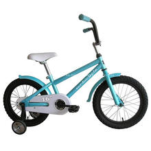 Bicicleta de los niños de 16 pulgadas con las ruedas de entrenamiento