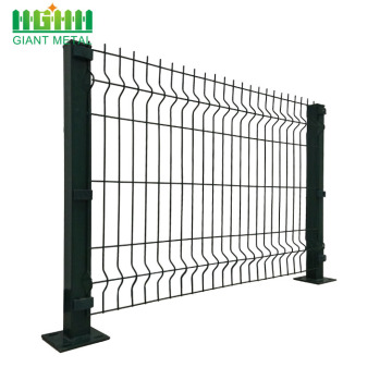 PVC Coated Triangle Bending Fence Garden Fence