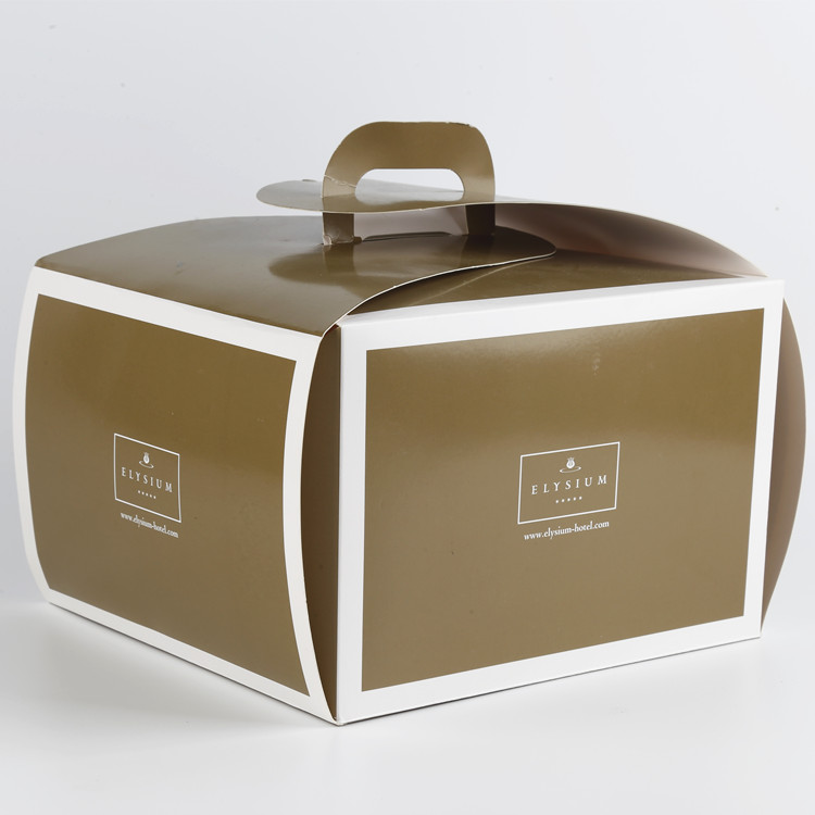 Cardboard Cake Packaging Box