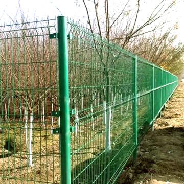 PVC Coated Welded Mesh Fence