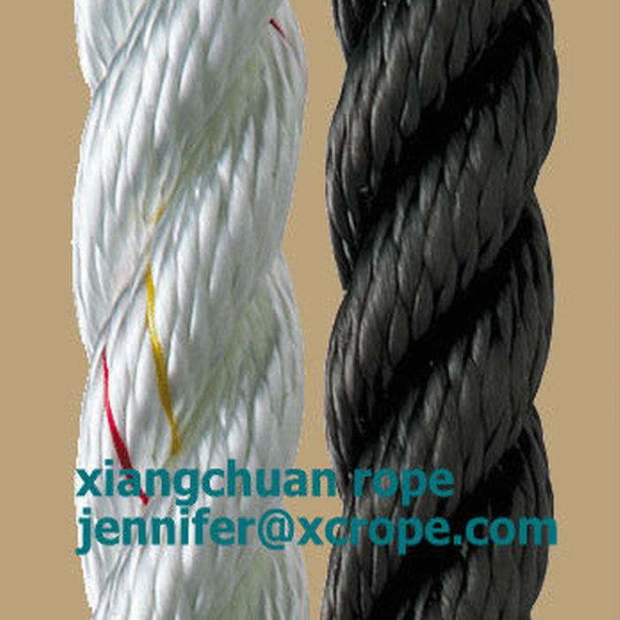 3 strands PP rope