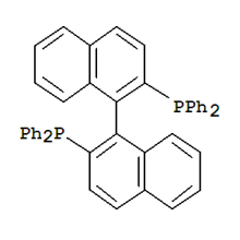 Chiral Chemical CAS Nr. 76189-55-4 (R) -Binap; (R) -2, 2'-Bis (diphenylphosphino) -1,1'-binaphthalin