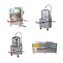 Kommerzieller Kartoffelschäler / Gemüsewaschmaschine