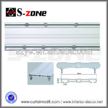 Double royal hotel window flexibleflexible ceiling curtain track