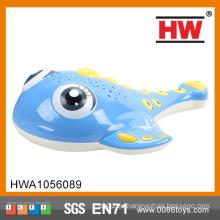 2015 Nuevo Diseño B / O Historia De Peces Con Luz Y Música Plastic Toy Fish