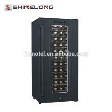 Affichage horizontal de refroidisseur de réfrigérateur de vin de semi-conducteur de la CE
