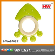 Atraente Lovely Baby Silicone Teething Ring Toy