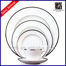 20 peças de porcelana moderna louça conjuntos
