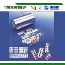 Orange Medical Use Clear Transparent Blue Tone Rigid PVC