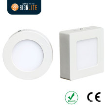 Quadratische / runde Oberfläche brachte 18W / 24W LED-Platte / LED Downlight / LED Downlight-Platte an