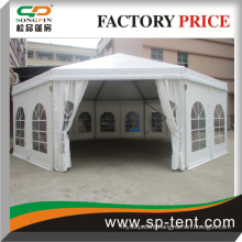 Heavy Duty aluminum Structure 15m polygon Party Tent With windows walls