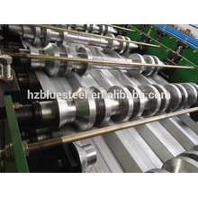 Galvenized Coat Metal Tole Roof Tile Sheet Mill Roll Forming Machine For Sale , Corrugated Rib R Panel RollForming Machine