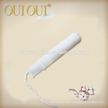 Lady comfortable disposable wholesale customized viscose tampons