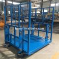 China supplier offers cheap hydraulic guide rail warehouse hydraulic cargo lift warehouse elevator lift