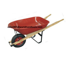 Wooden Handle Wheelbarrow Wh5400 for South American Market