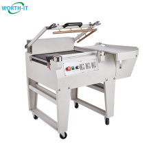 50 pcs automatic disposable flat face mask packing machine