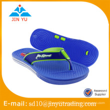 2016 China factory price men PVC flip flop slipper sandalia
