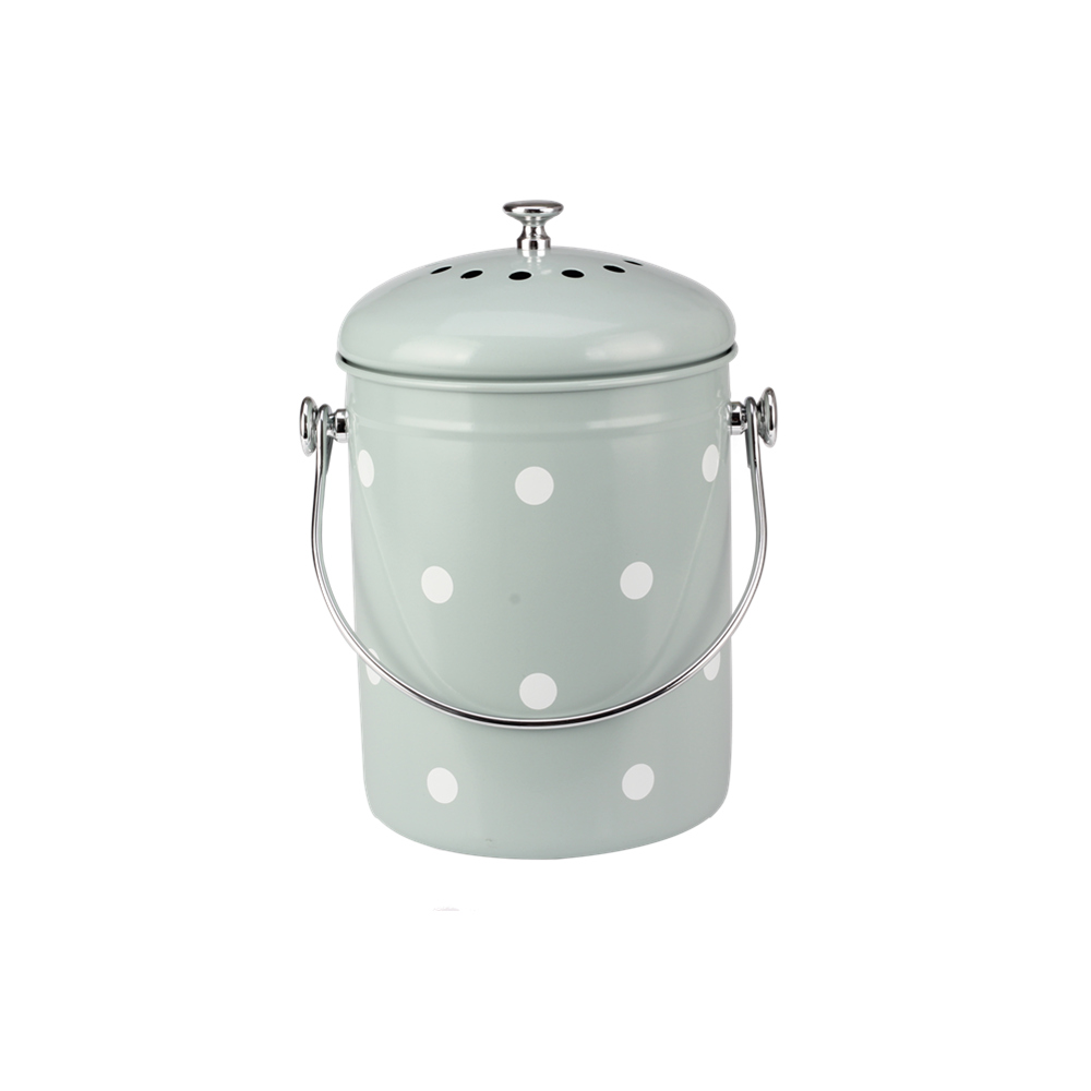 Eco Friendly Stainless Steel Compost Bin For Kitchen With Lid