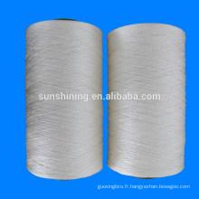 150D / 3 FDY Fil de fil de polyester multi-couches