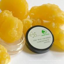 CBD wax crumble hemp full spectrum oil bulk for dabbing thc free