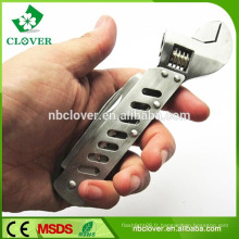 Outil à clé à main en acier inoxydable multi-fonctions 5 en 1