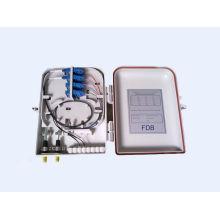 FTTH Caja de distribución óptica de 16 puertos con adaptador LC, SC, ST, FC