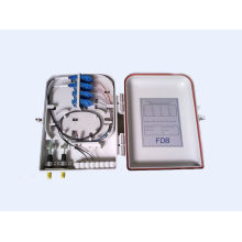 FTTH 16 port optical distribution box with LC ,SC ,ST , FC adapter