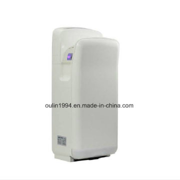 UK Market Luna Brushless Anti-Bacterial Ce Approved Hand Dryer