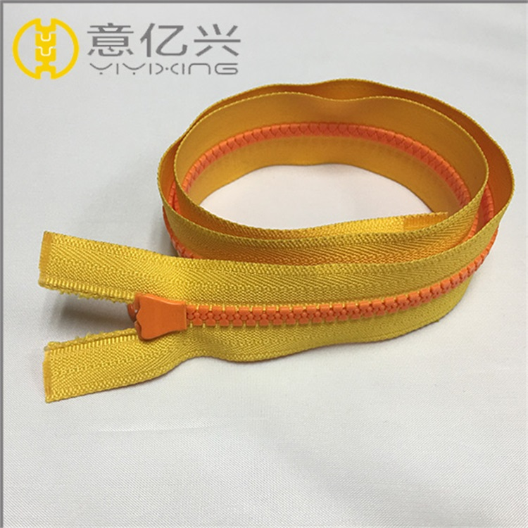 no.5 plastic thick Zipper